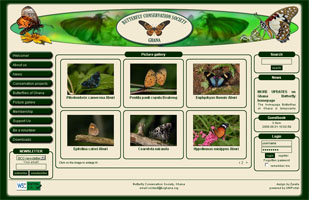 Butterfly Conservation Society, Ghana